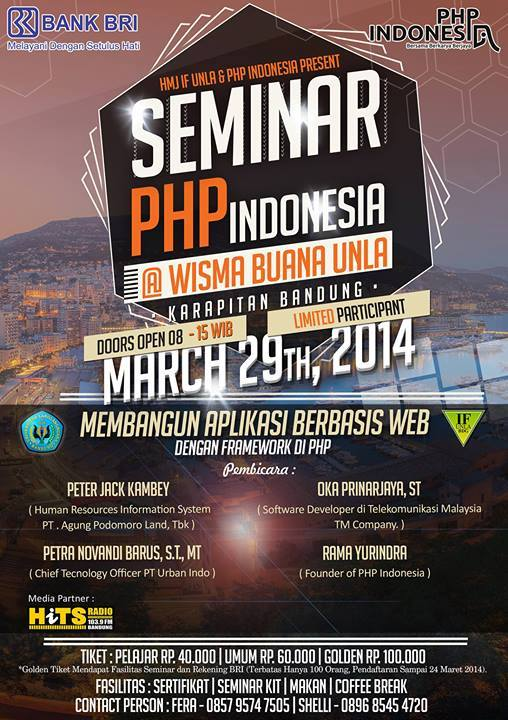 seminar php indonesia
